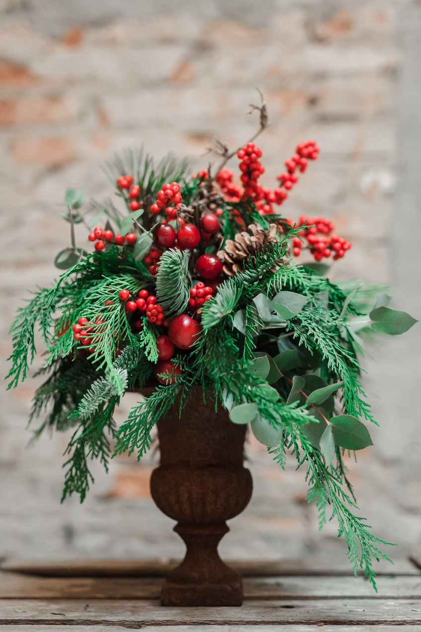 Christmas in shop – photo Olga Makarova