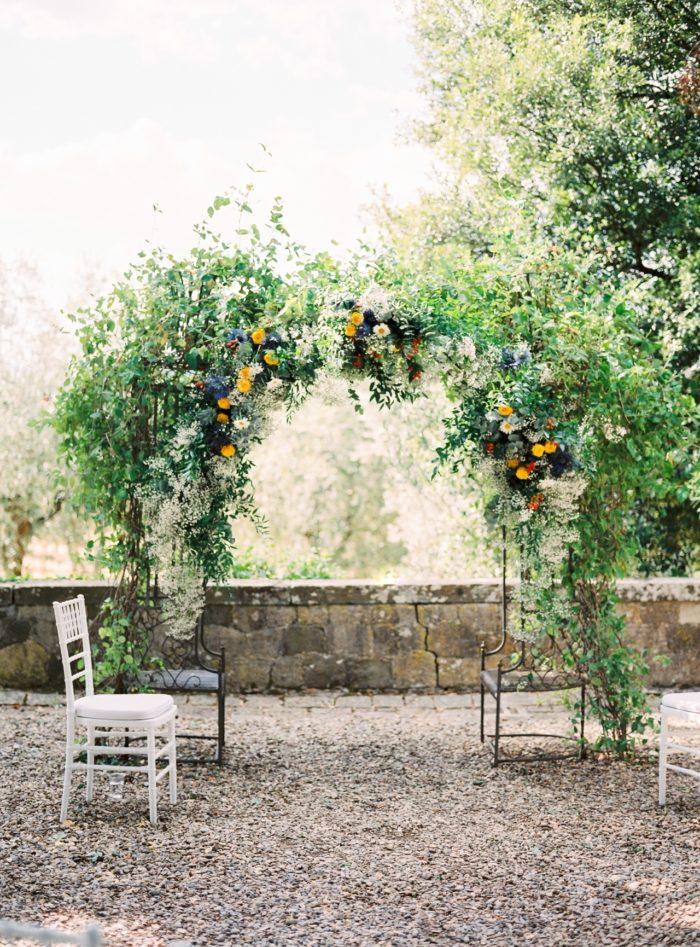 Castello Il Palagio San Casciano Wedding